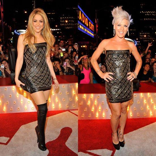 Shakira VS Pink