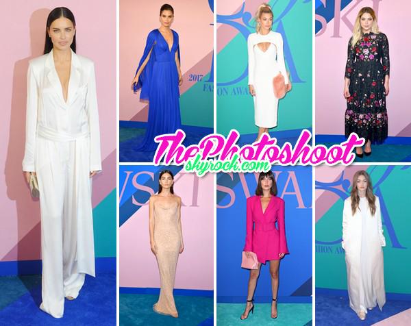 Tenues aux CFDA Fashion Awards