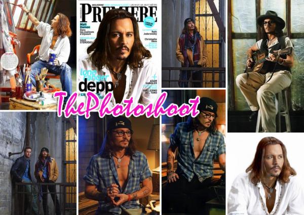 Johnny Depp pour Premiere, datant de 2013