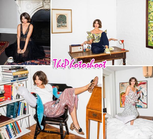 Alison Brie pour Marie-Claire Magazine