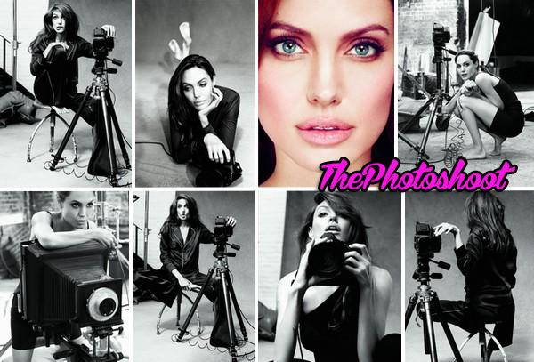 Angelina Jolie pour Marie-Claire Magazine de Janvier 2012, photo de Alexei Hay