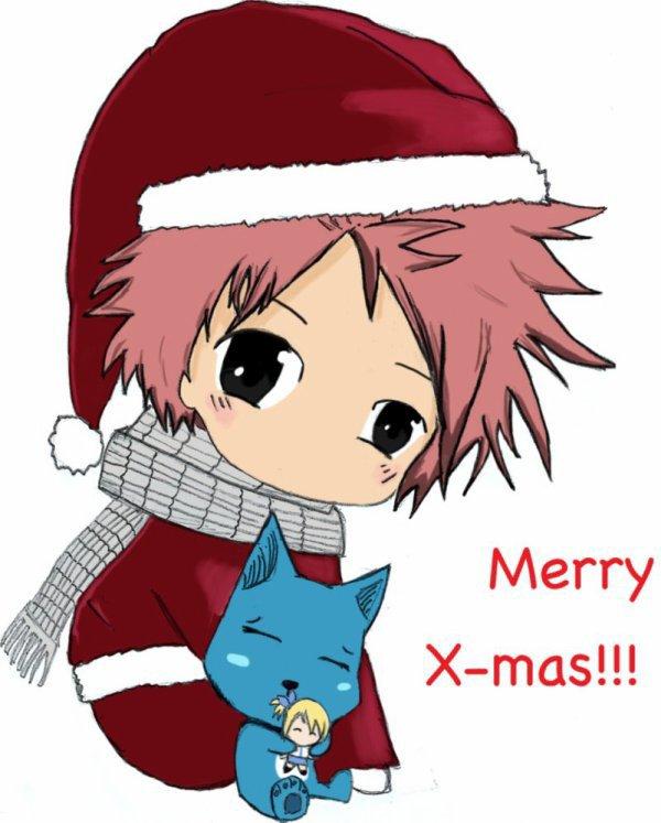 Natsu à Noël ❤️