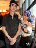 *  08/08/10: Hayden en compagnie d'un garçon très ... tatoué au festival de Lollapalooza.   *