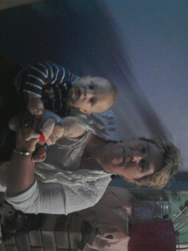 ma mere et mon neveu