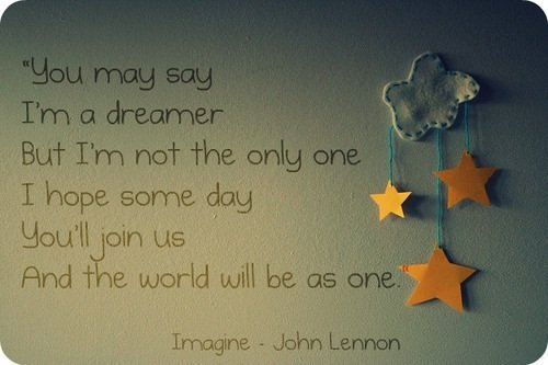 Don't wake me up and let me dream...