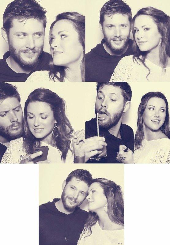 Photoshoot : Jensen et Danneel Ackles