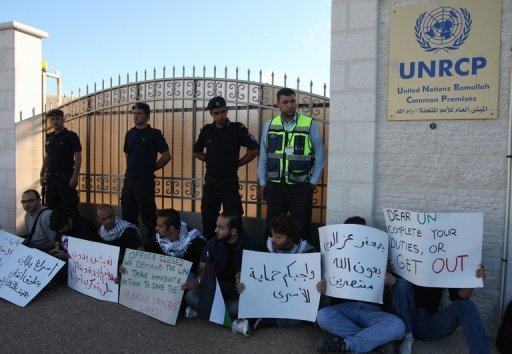 The United Nations did nothing to save the lives of Palestinian prisoners on hunger strike in Israeli jails