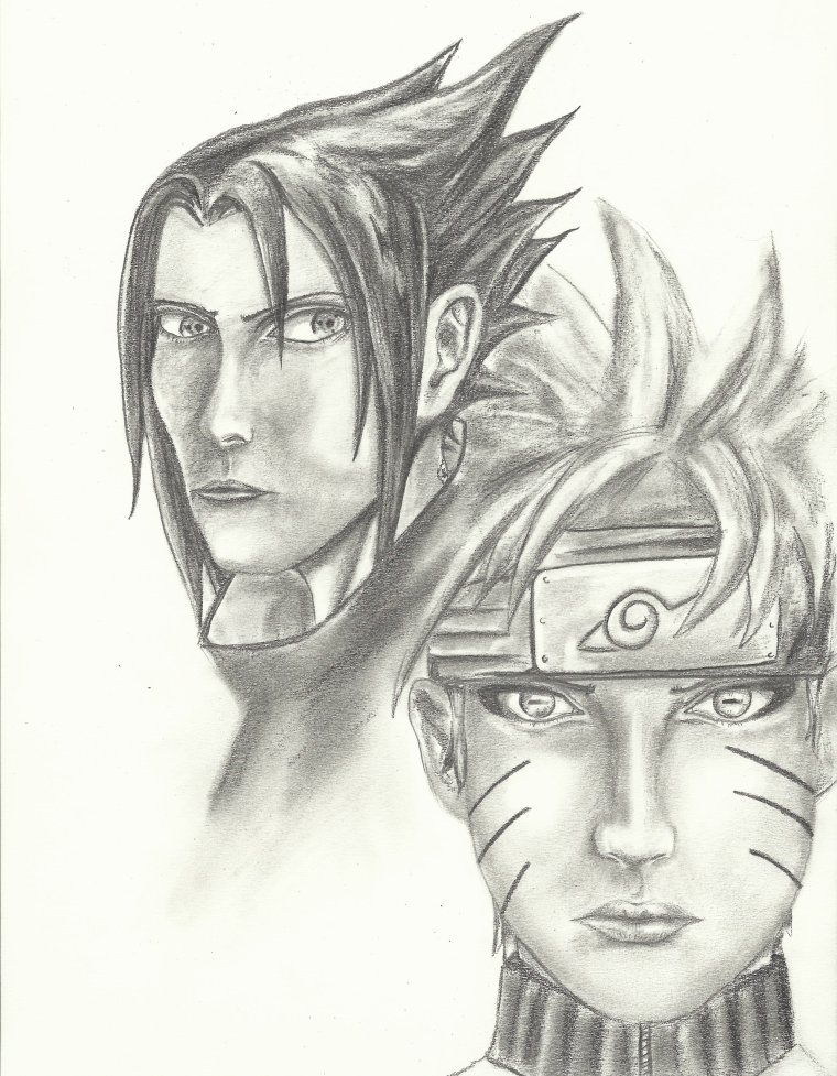Dessin naruto sasuke - Dessin naruto et sasuke ...
