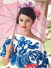 Photoshoot de Selena Gomez pour Teen Vogue