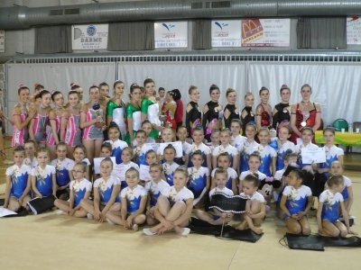 Photo du club 1iere compete a gerland