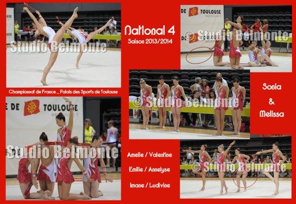 National 4 - Entrainé par Sonia & Melissa