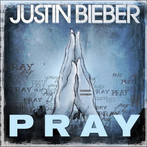 LA POCHETTE  DU SINGLE  « PRAY ». PERSONNELLEMENT JE LA TROUVE MAGNIFIQUE ET TOI ?