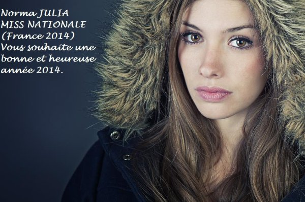 """Norma JULIA """"MISS NATIONALE (France 2014)"""""""