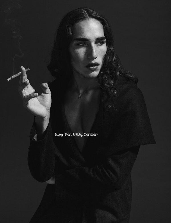 ► Janvier 2013 : Willy Cartier pose pour un magasine avec en bonus une interview