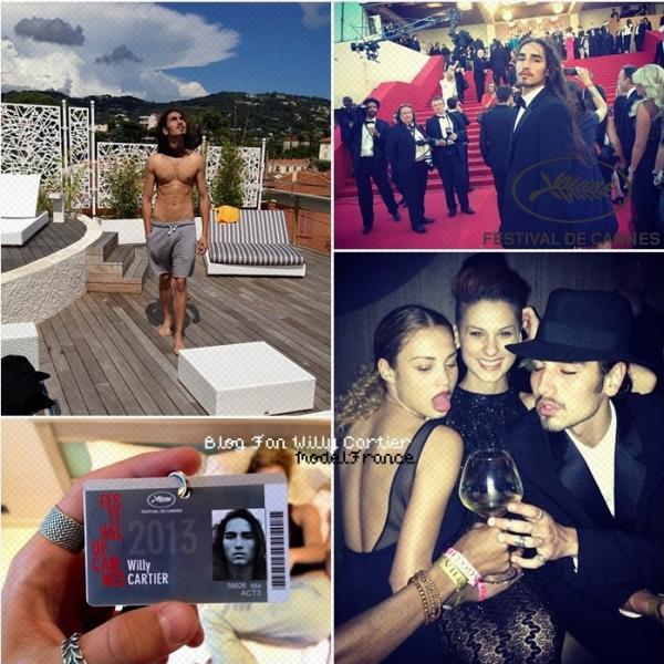► Mai 2013 : Notre Willy  se trouve actuellement au Festival de Cannes