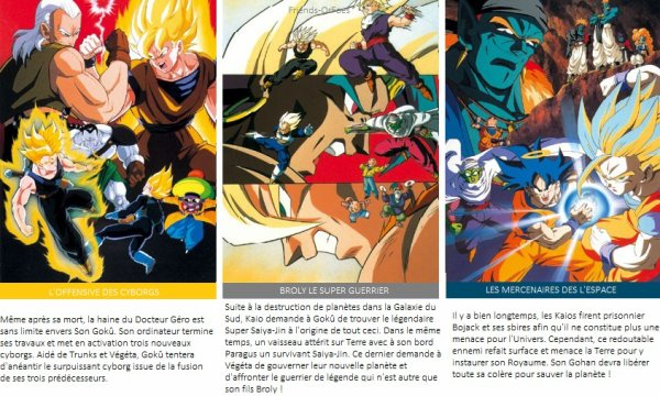 ✪Dragon Ball ▼ Films + OAV