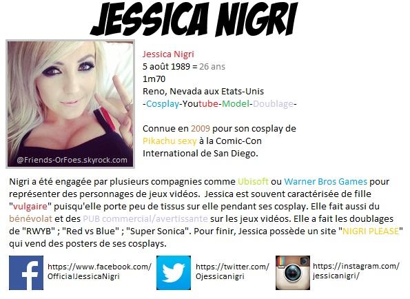 ✪Culture ▼ Jessica Nigri