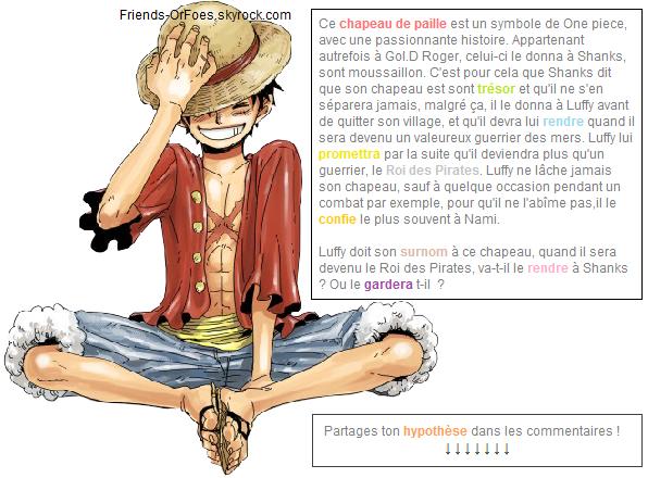 ✪One Piece ▼ L'histoire du Chapeau de Paille