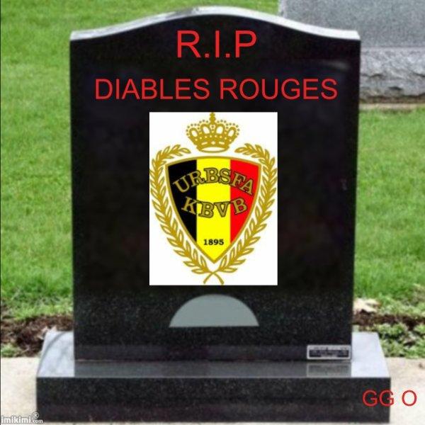 LA MORT DES DIABLES ROUGES