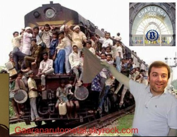 Mogi Bayat est devenu chef de gare à Charleroi sud
