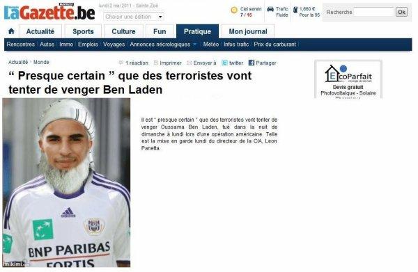 Boussoufa tirera t'il des penalty pour venger la mort de Ben laden?