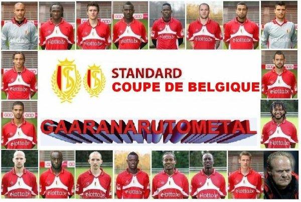le poster du gagnant de la coupe de belgique