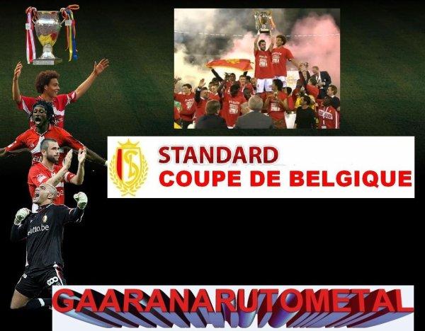 Le Standard gagne la coupe de Belgique