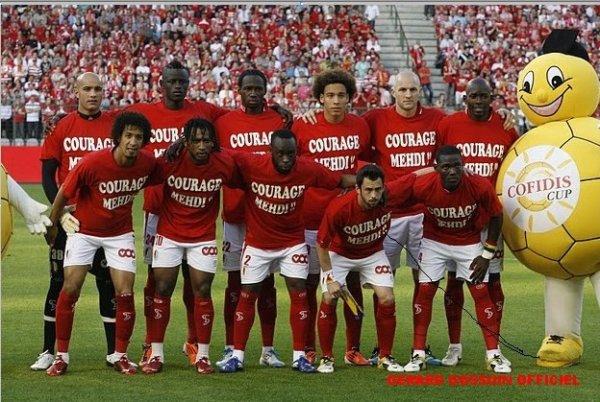L'équipe qui a gagné la coupe