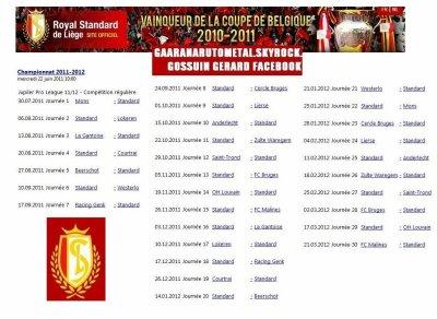 LE CALENDRIER 2011-2012 EN POSTER
