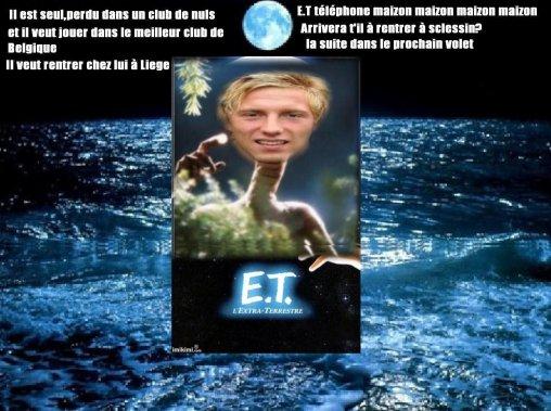 Legear ou E.T veut rentrer maison