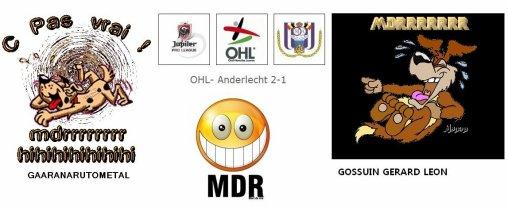Anderlecht vise la 4ème place de la jupiler league