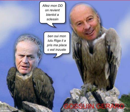 Les vautours d'onofrio rodent autour de Sclessin