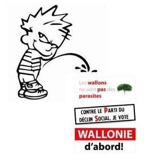 Wallonie d'abord prend en otage le Standard de Liege