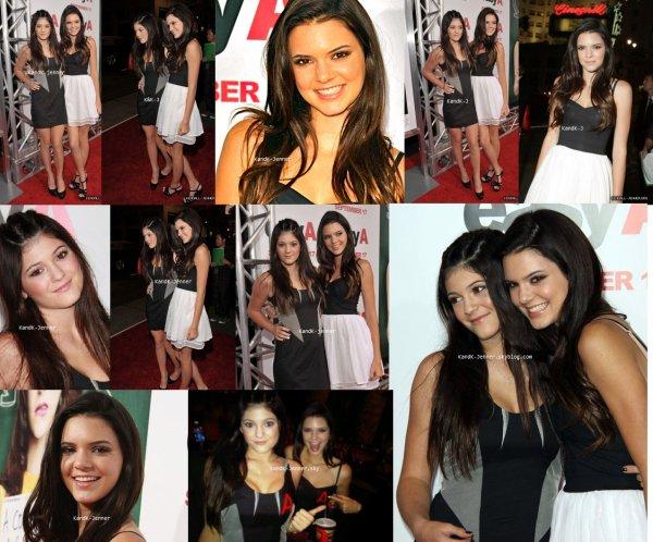 """Red Carpet 14/09/10: Kendall & Kylie à la première du film  """" Easy """". Artcile Mode concernant leur tenue a suivre ..."""