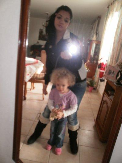 Moi et la cousine :)