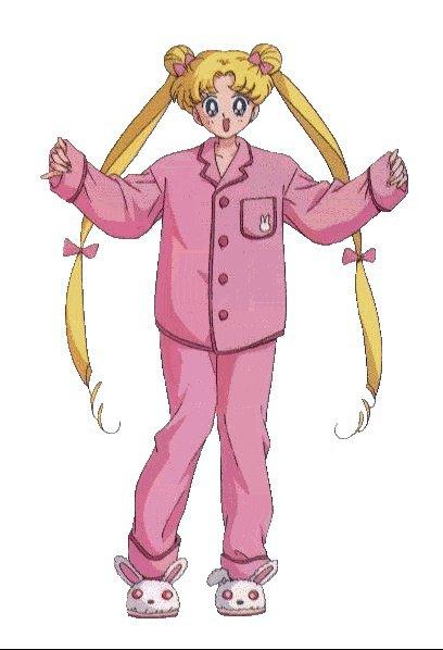 bunny en pyjama