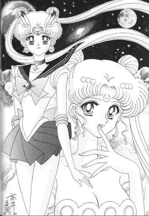 sailor moon,princesse sérényté