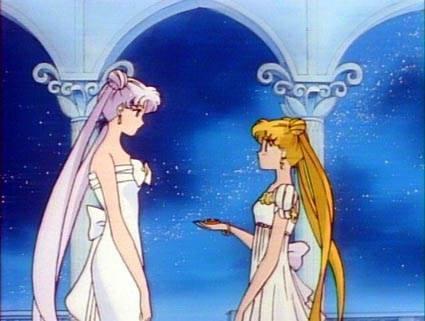 la reine et la princesse sérényté