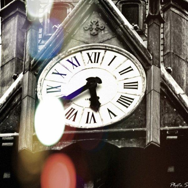Le temps s'écoule...