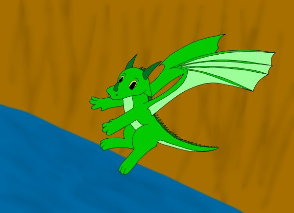 Dragon de plante