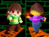 Chara and Frisk 2