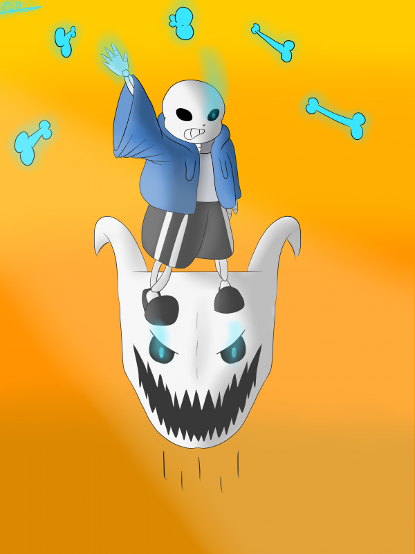 Sans bad time + first draws