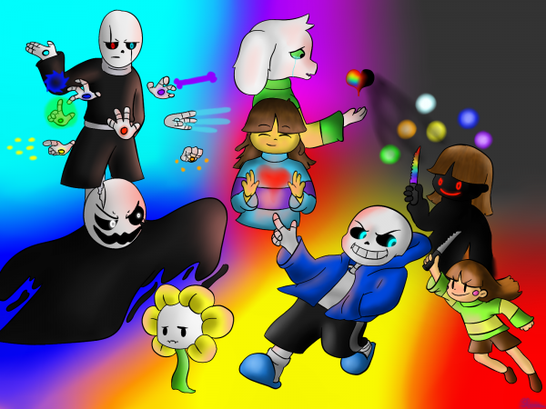 Glitchtale poster