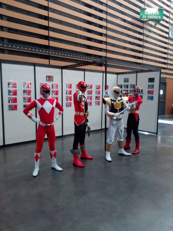 les powers rangers