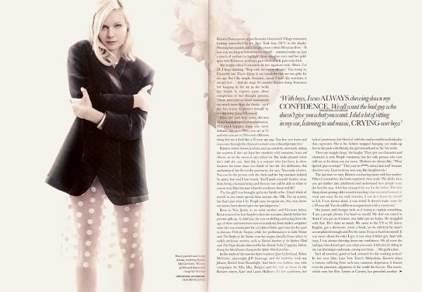 Magasine; L'article complet, du Elle UK, sur Kirsten a enfin été mis en ligne !J'aime beaucoup les photos, elles sont simple et sublime !