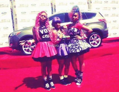 01.07.2012: Les filles étaient invitées au BET Awards, voici quelques photos +leur performance.
