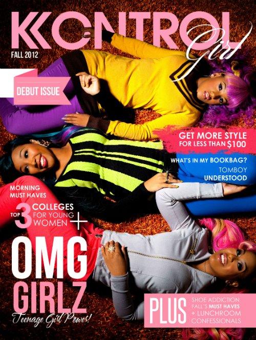 Les OMG Girlz on fait la couverture de Kontrol Magazine, voici quelque photos + la vidéo du photoshoot.