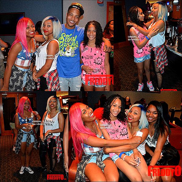 """22/06/13: Les filles étaient au concert organisé par """"Call To Peace""""  à Charlotte, NC"""