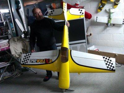 Nouveau né Voltige Extra 260 JBMOdel