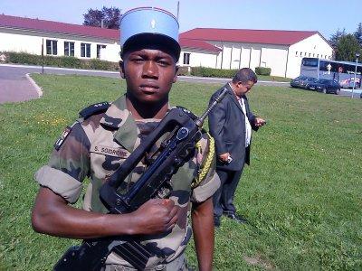 militaire et fier de l'étre  a verdun